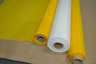 China 65 Inch Polyester Monofilament Mesh , Polyester Mesh Screen Low Elasticity  supplier