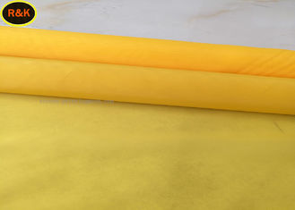 China Durable Monofilament Screen Printing Mesh 25M/Roll , 50M/Roll , 100M/Roll Length supplier