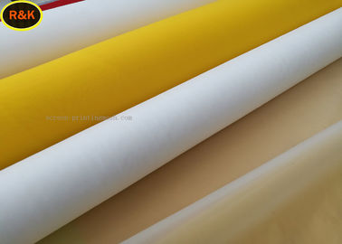 China 32 T-100 Micron Fabric Printing Materials Silk Screen Mesh Heat Resistance supplier