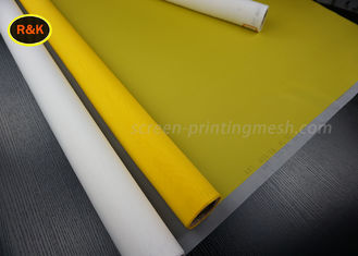 China Customized Textile Screen Printing Mesh Roll 150 Micron Fast Printing Speeds supplier