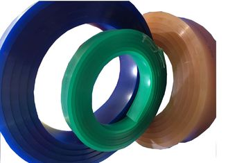 China 9MM Thickness Screen Printing Squeegee Blades Red / Green / Blue / White Color supplier