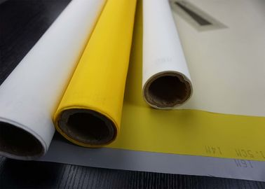 China Thermal Polyester Bolting Cloth , Polyester Screen Printing Fabric Customized Color supplier