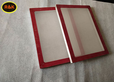 China High Precision Silk Screen Aluminum Frame For Printing Silver Color Light Weight supplier