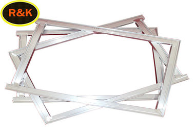 China 30*30mm Customized Aluminium Silk Screen Frame For Printing Low Elasticity supplier