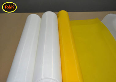 China Yellow 90 T 48 Y Polyester Silk Screen Printing Mesh for Flower Paper Printing supplier