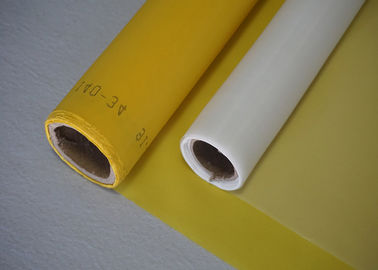 China 120 T Mesh 160 Mesh Silk Screen Printing Mesh Screens White Yellow Color supplier