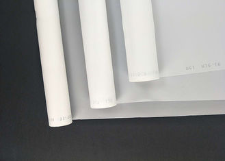 China White Color Nylon Mesh Cloth 105CM Width Alga Filter 305 Mesh Count supplier