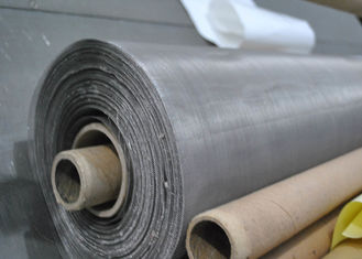 China 160 Micron 304N Stainless Steel Rotary Screen Printing Cloth For Glass Factory supplier