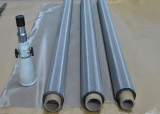 China High Tension Strength Stainless Steel Screen Printing Mesh For Hybrid Circuits supplier