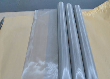 China 304N Stainless Steel Screen Printing Mesh , Plain Weave Fabric Mesh Screen supplier