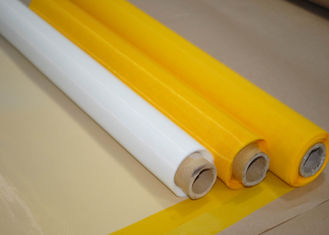 China 100% Polyester Screen Printing Mesh / Silk Mesh Fabric High Tension supplier