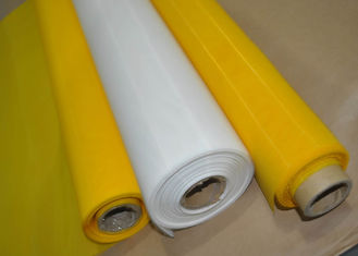 China 200 Mesh White Color Nylon Silk Screen Fabric Mesh For DVD Printing supplier