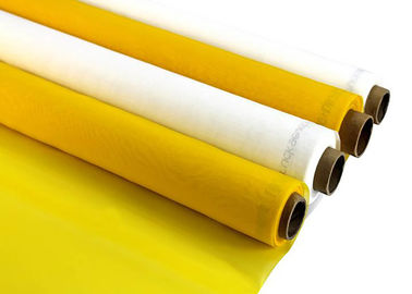 China FDA / SGS Approved Monofilament Polyester Screen Fabric Faster Print Speeds supplier
