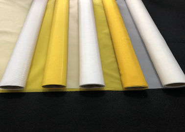 China 32 T - 100 Micron Heat Resistance Polyester Screen Printing Mesh supplier