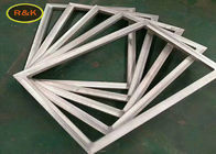Aluminum Windows Silk Screen Frame For Silk Screen Printing With Polyester / Nylon Mesh