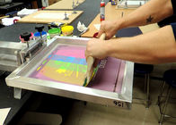High Precision Silk Screen Aluminum Frame For Printing Silver Color Light Weight