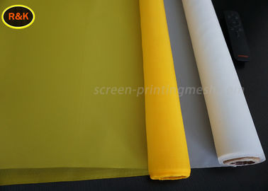Professional Monofilament Screen Printing Mesh Roll 100 % Monofilament Polyester Yarn