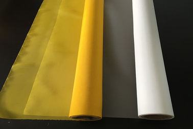 China 90 T - 230 Mesh Bolting Cloth / White 100% Polyester Mesh Screen factory