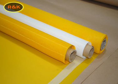 77T-48PW Screen Printing Mesh Durable For Textile Printing / Board Inks