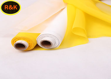120 Microns Aperture Nylon Silk Net Printing , Nylon Screen Mesh Fabric