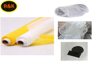 White Screen Printing Mesh Roll 165T-31PW For Solvent Ink Printing