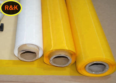 High Tension 120T Monolifament Polyester Silk Screen Printing Mesh For Textile