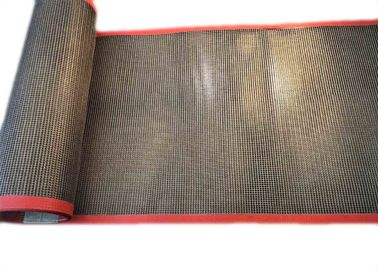 2 Mm*2 Mm Teflon Fiberglass Mesh Conveyor Belt For Cardboard Division