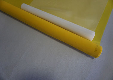 Yellow Color 120T-31Y Polyester Silk Screen Printing Mesh For T- Shirt Printing