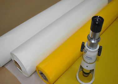 China 100% Monofilament Polyester Screen Fabric For T- Shirt Printing Acid Resistance factory