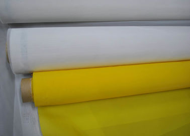 China 90T-48PW White Polyester Silk Screen Printing Mesh Free Sample factory