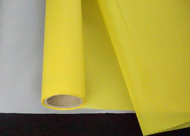 High Tension Screen Printing Mesh Material / 300 Mesh Silk Screen Silk Screen Roll