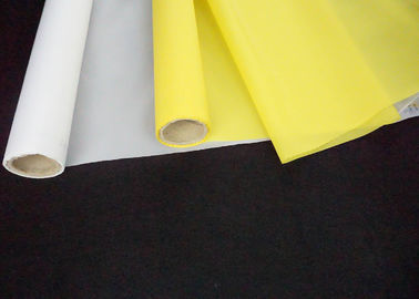 77T Polyester Silk Screen Printing Mesh Roll Low Elongation 18 -420 Mesh