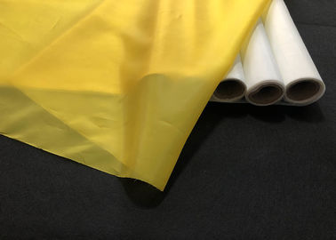 China Yellow Monofilament Polyester Silk Screen Printing Mesh 39t 168t 80 380 420 factory