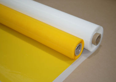 China Low Elongation Thermal Screen Printing Mesh Roll 33 - 420 Mesh / Inch factory