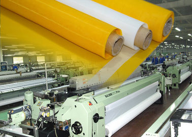 China Glass Printing Nylon Mesh Screen Roll , Screen Printing On Polyester Fabric factory