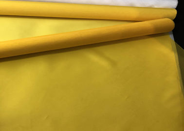 China Yellow 90 T 48 Y Polyester Silk Screen Printing Mesh for Flower Paper Printing factory