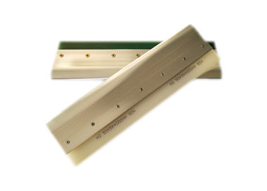 China Aluminum Squeegee Blade Replacement For Screen Printing White Color factory
