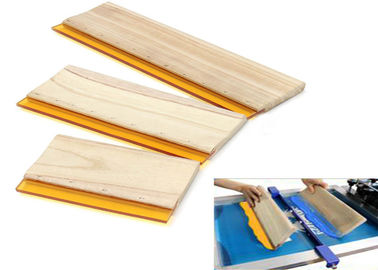Wear Resistant Silk Screen Squeegee Blades , Replacement Squeegee Blade Rubber Materials