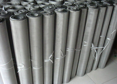 China Durable Stainless Steel Screen Printing Mesh , 40 100 200 Mesh Woven Wire Mesh factory