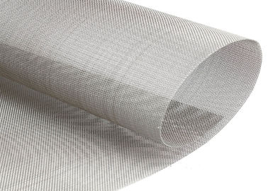 China Staindard Size 304 316 Stainless Steel Screen Printing Mesh Cloth 400 Micron factory