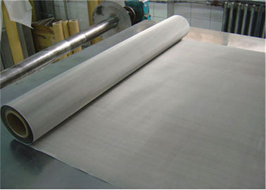 China 635 Mesh Roll Plain Weave SS 304 Wire Mesh , Stainless Mesh Screen For Printing factory