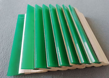 55A-90A Screen Printing Squeegee Rubber / Polyurethane Squeegee Blade For Silk Screen