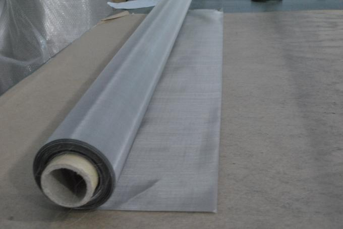 High Tension Silk Screen Printing Mesh / Stainless Steel Bolting Cloth
