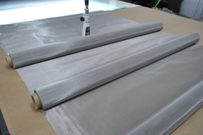 Low Elongatation Stainless Steel Wire Mesh Cloth OEM / ODM Acceptable