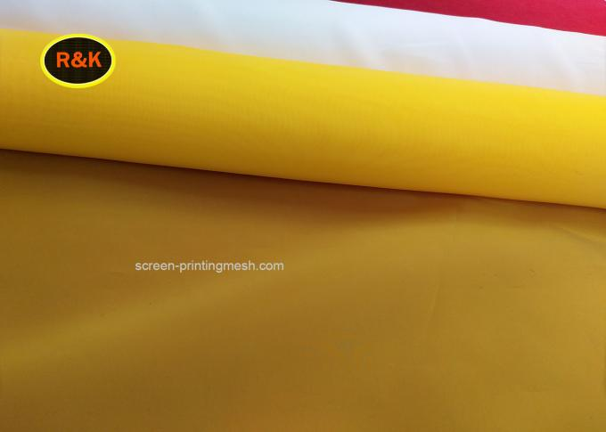 Low Elasticity Polyester Screen Printing Mesh For Liquid Crystal Display