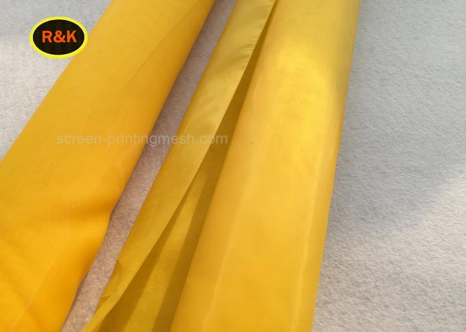 100% Polyester 110 Mesh , Silk Screen Fabric Mesh For Touch Printing