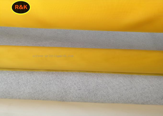 Durable Monofilament Screen Printing Mesh 25M/Roll , 50M/Roll , 100M/Roll Length