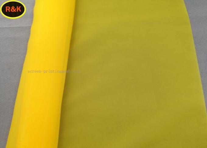 Professional 110 Monofilament Polyester Mesh Bolting Cloth For Screen Printing