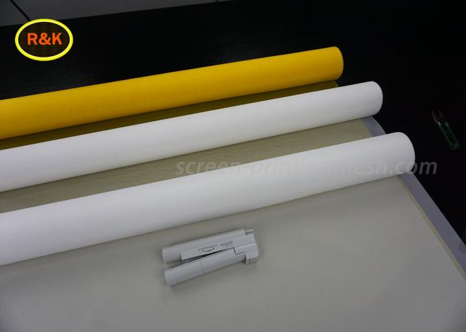 100 Mesh Polyester Filter Mesh Screen Roll 39 T 55 Micron Plain And Twill Weave