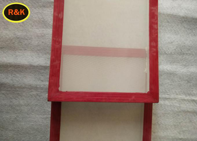 Different Sizes Aluminium Screen Printing Frames With Mesh 2Cm Thickness